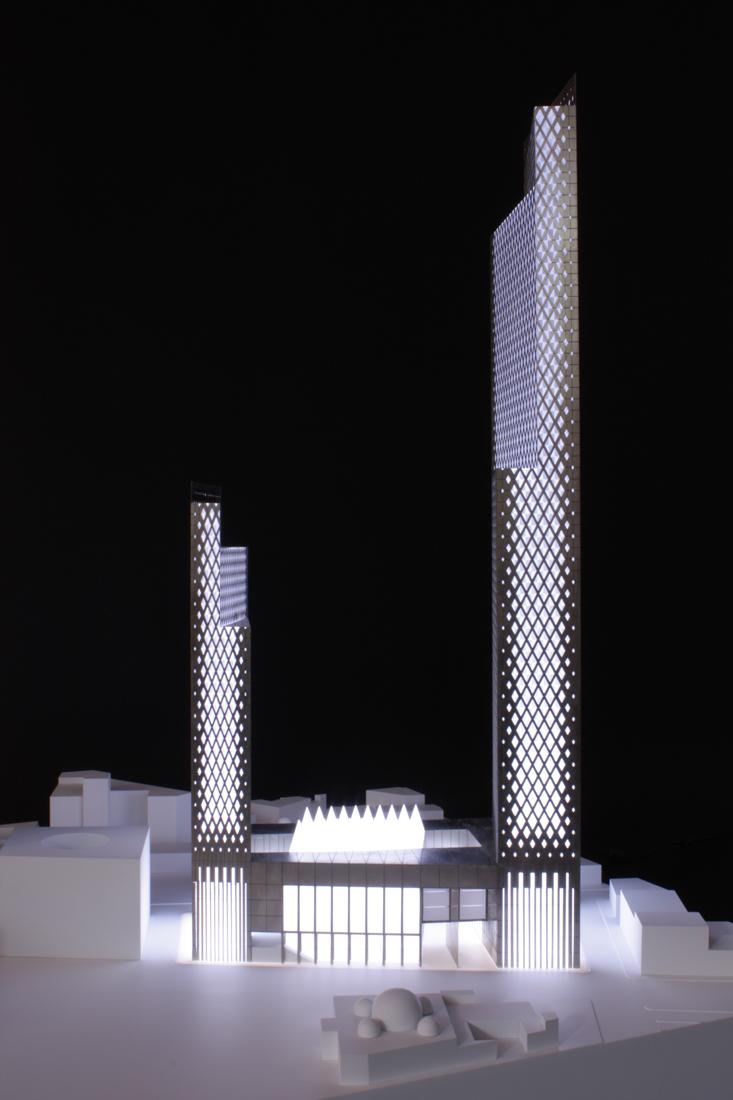 Tower at Suk Al Thalath Al Gadeem Tripolis