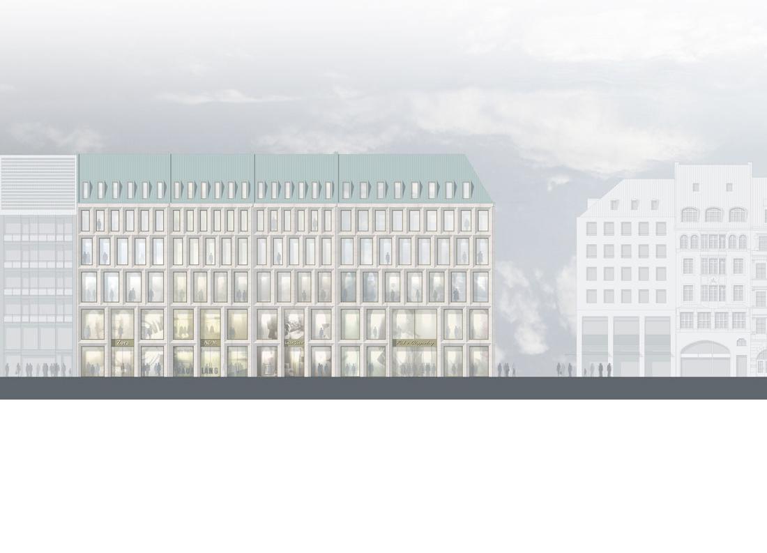 Geschäftshaus Neuhauser Straße München