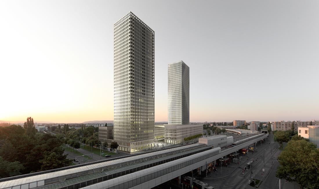 Neues Zentrum Kagran Wien Österreich