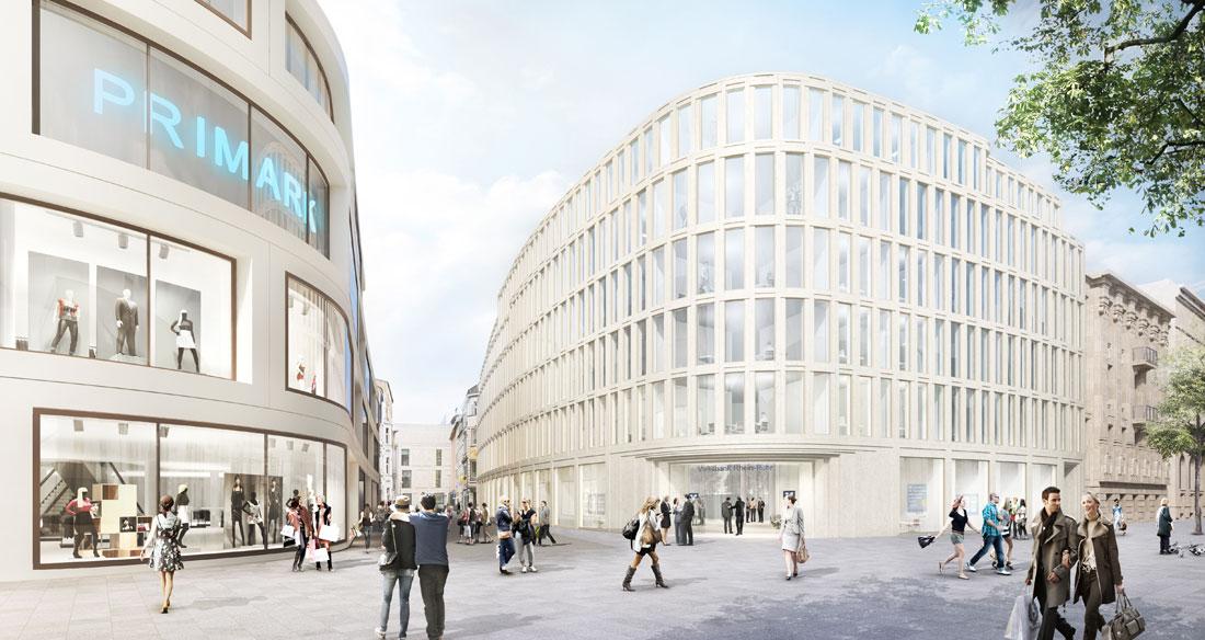 Neubau Bürogebäude der Volksbank Rhein-Ruhr eG Duisburg