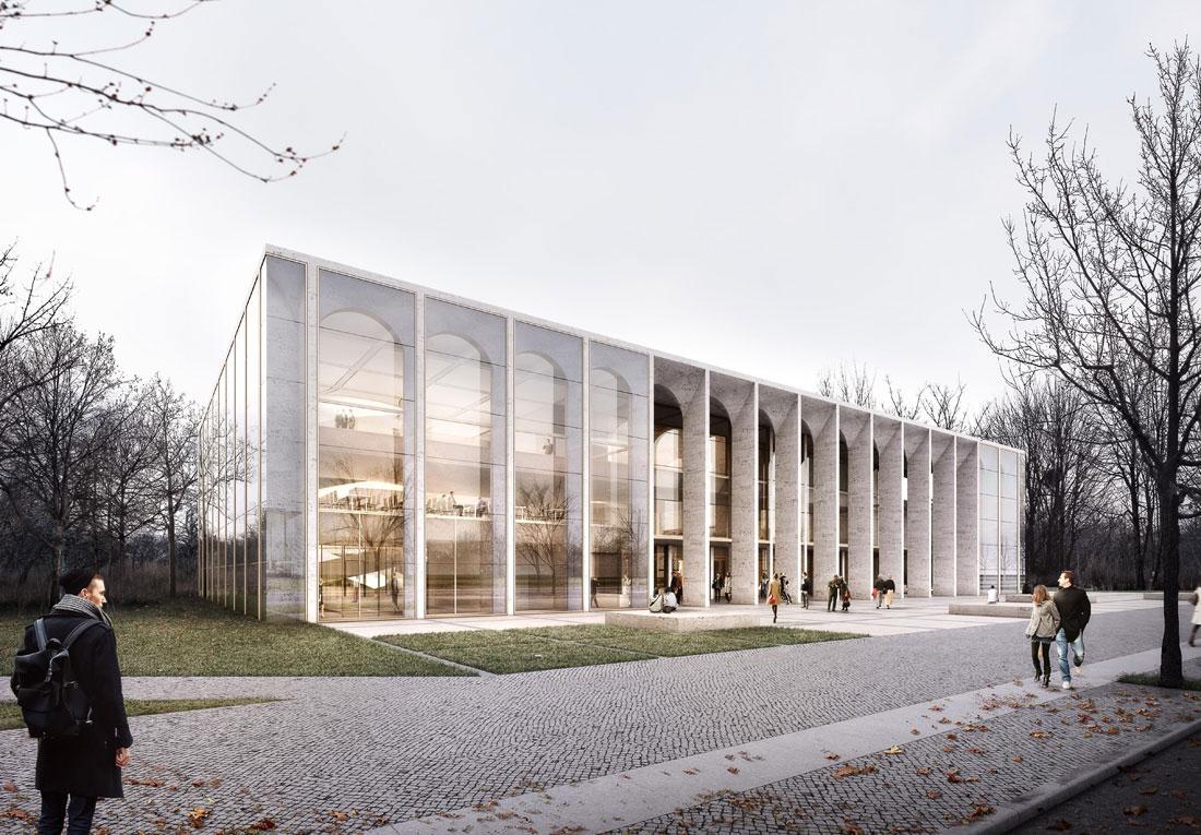 Besucher- und Informationszentrum des Bundestags Berlin