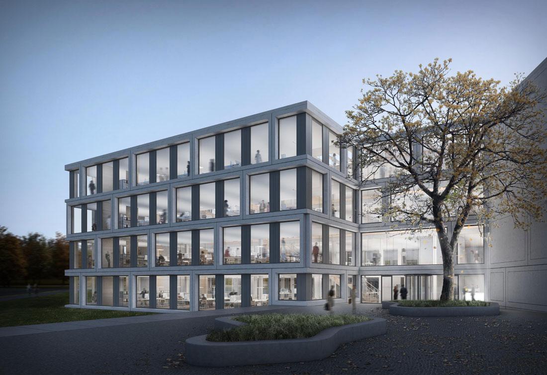 Unternehmenszentrale Goldbeck Bielefeld