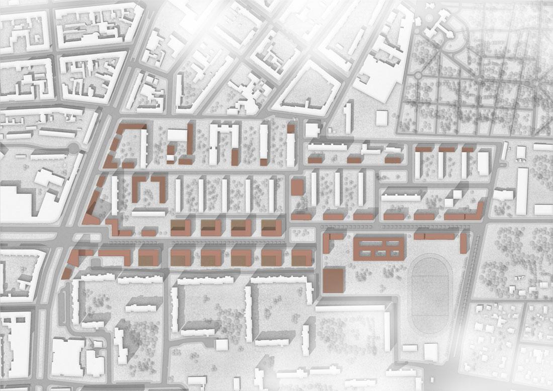 Wohnquartier Michelangelostraße Berlin