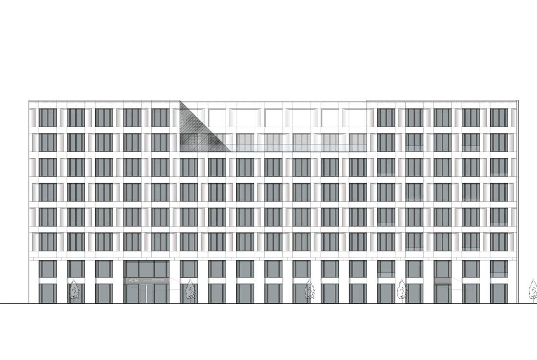 Bürogebäude am Kunstcampus Berlin