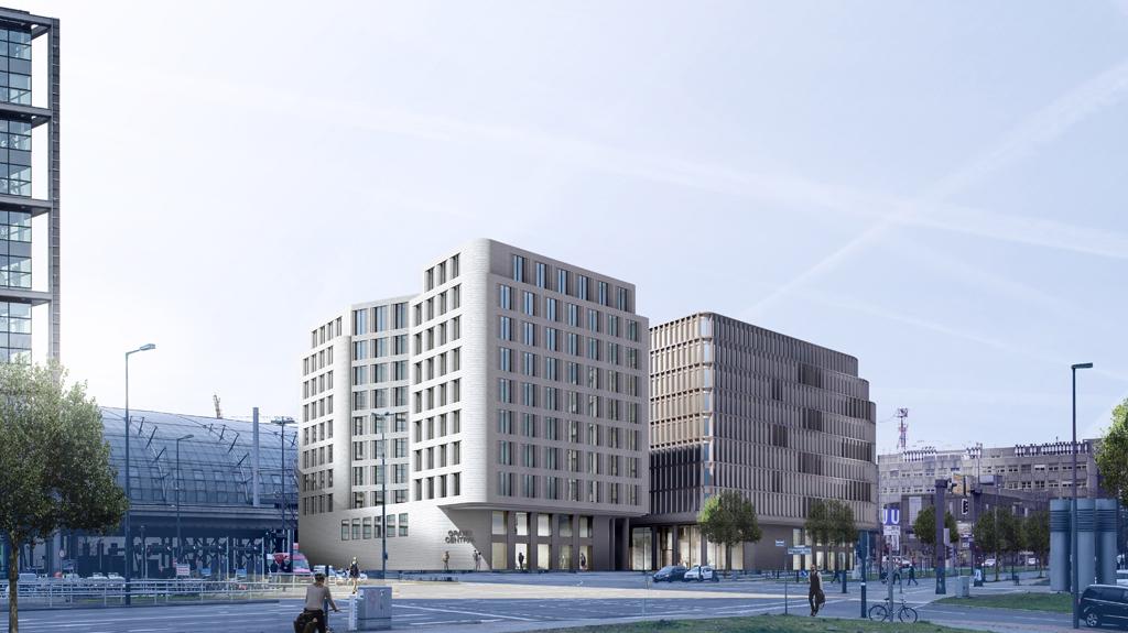 Hotel- und Büroneubau Grand Central Berlin