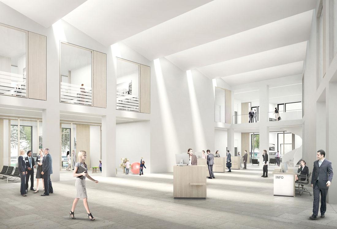Neubau der Sparkassen-Hauptstelle Bocholt