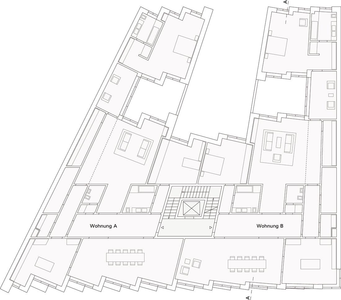 Wohn- und Geschäftshaus am Hausvogteiplatz Berlin