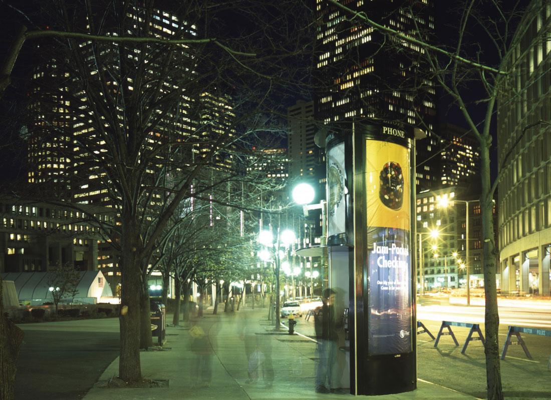 Stadtmöbel Streetline Boston Wall AG