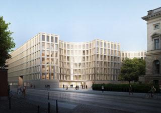 Erweiterung des Bundesumweltministeriums Berlin Kleihues