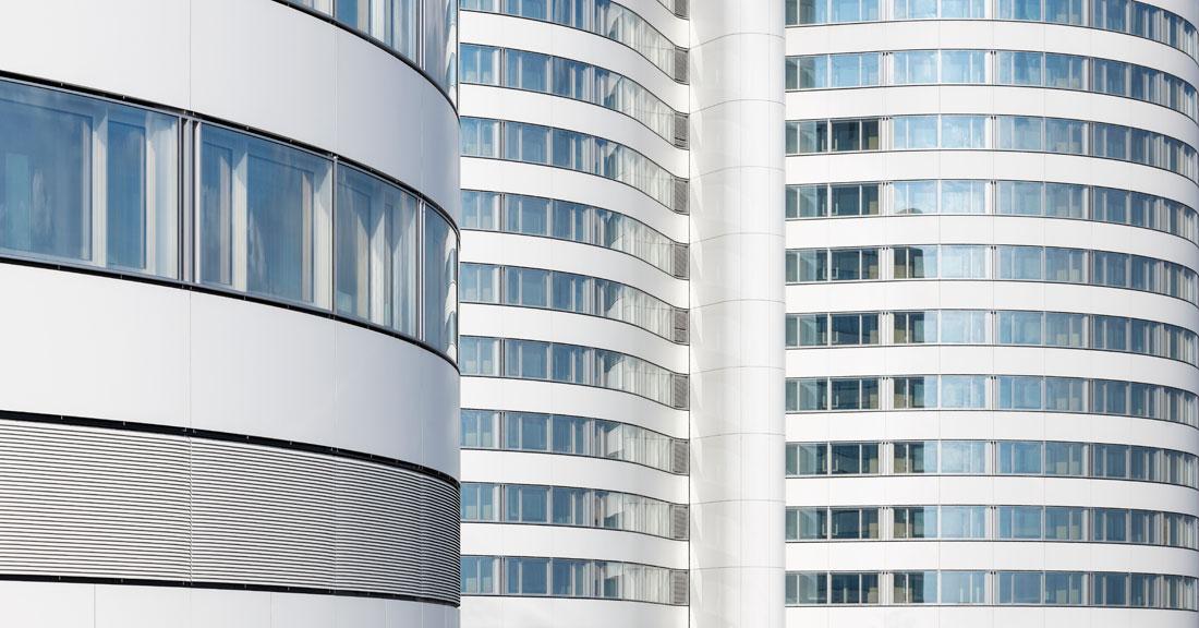 Fassadensanierung der Bettentürme des Zentralklinikums des UK Münster