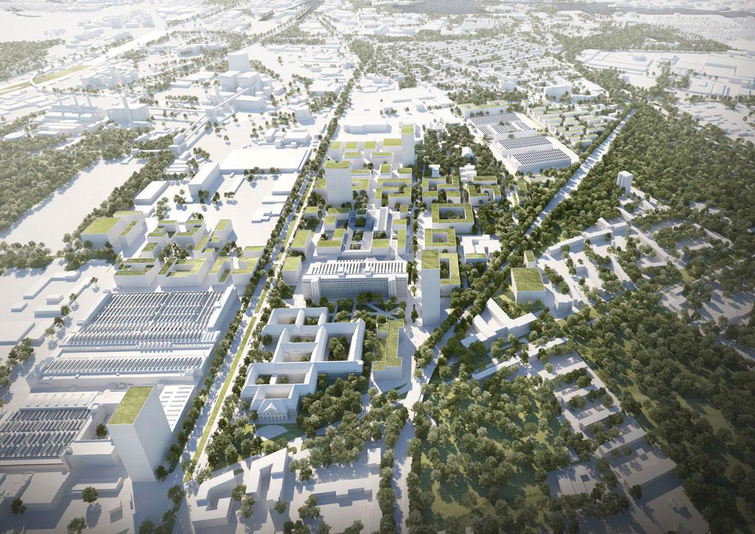 Siemens Kleihues Siemensstadt 2.0 Campus