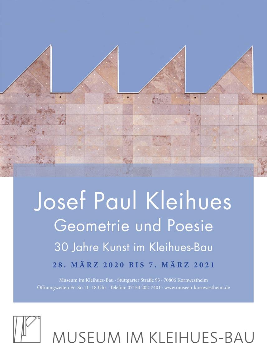 Josef Paul Kleihues Geometrie und Poesie Museum im Ausstellung im Kleihues Bau Kornwestheim