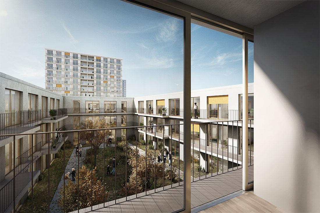 München Freiham Future City West Kleihues