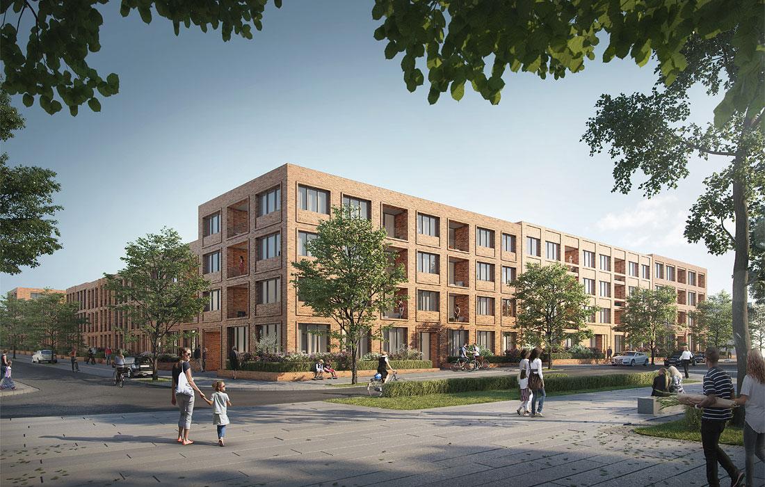 Erweiterung Kronsberg Süd Hannover Kleihues